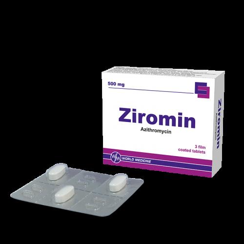 ზირომინი ტაბლეტი 500მგ #3