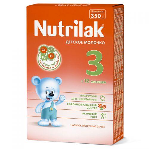 ნუტრილაკი - 3 რძე /12თვ+/ 350გრ 0151