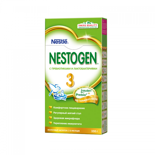 ნესტლე - ნესტოჯენი-3 პრებიო /12თვ+/ 350გრ 8995