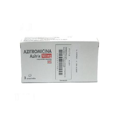 აზიტრომიცინი აზიტრიქსი ტაბლეტი 500მგ #3