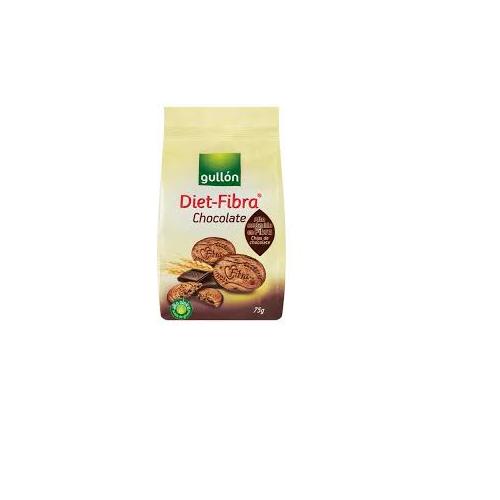გულონი - ორცხობილა ბოჭკოვანი სტრუქტურის შავი შოკოლადით 75გრ 2767