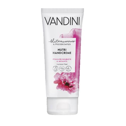ვანდინი - NUTRI ხელის კრემი მშრ. კანის პიონის ყვავილი და არგანის ზეთი 75მლ 0250/0955