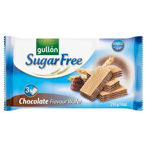 გულონი - ვაფლი უშაქრო შოკოლადის კრემით 210გრ(180გრ) 3365