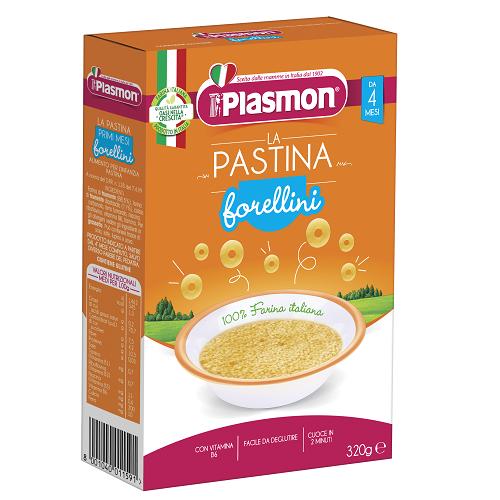 პლასმონი - პასტა(მაკარონი) ფორელინი /4თვ+/ 320გრ 1591
